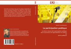 Bookcover of La participation publique