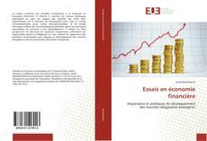 Couverture de Essais en économie financière