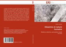 Désastres et nature humaine的封面