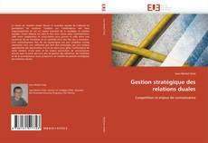 Buchcover von Gestion stratégique des relations duales