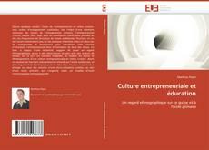 Borítókép a  Culture entrepreneuriale et éducation - hoz