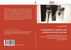 Borítókép a  Conception et synthèse de surfaces nanostructurées - hoz