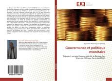 Capa do livro de Gouvernance et politique monétaire
