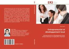 Bookcover of Entrepreneuriat et développement local