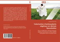 Couverture de Valorisation d'antioxydants végétaux en dérivés liposolubles