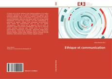 Bookcover of Ethique et communication