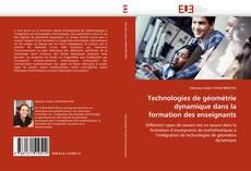 Portada del libro de Technologies de géométrie dynamique dans la formation des enseignants