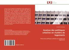 Borítókép a  Analyse des politiques urbaines en matière de logements - hoz