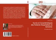 Bookcover of Survie et Caractéristiques des Patients Hospitalisés en Gériatrie: