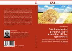 Copertina di Fonctionnement et performances des associations blé dur-légumineuses