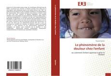 Bookcover of Le phénomène de la douleur chez l'enfant