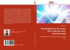 Обложка Développement des lasers XUV créés par laser femtoseconde