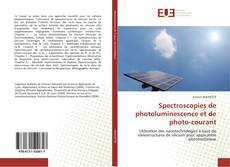 Couverture de Spectroscopies de photoluminescence et de photo-courant