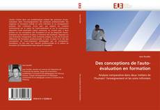 Bookcover of Des conceptions de l''auto-évaluation en formation
