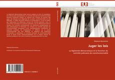 Buchcover von Juger les lois