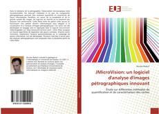 Bookcover of JMicroVision: un logiciel d'analyse d'images pétrographiques innovant