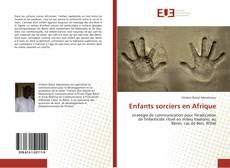 Portada del libro de Enfants sorciers en Afrique