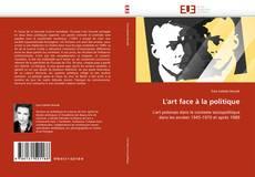 Bookcover of L''art face à la politique