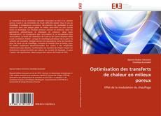 Portada del libro de Optimisation des transferts de chaleur en milieux poreux
