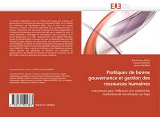 Bookcover of Pratiques de bonne gouvernance et gestion des ressources humaines