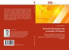 Couverture de Sécurité thermique des procédés chimiques