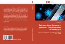 Couverture de Épistémologie, langage et pratiques d'enseignement technologique