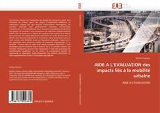 Borítókép a  AIDE A L'EVALUATION des impacts liés à la mobilité urbaine - hoz