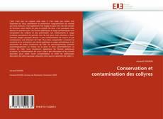 Обложка Conservation et contamination des collyres