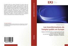Capa do livro de Les transformations de l'emploi public en Europe