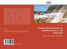 Buchcover von Biodiversité de l'herbier de Posidonie dans un site anthropisé