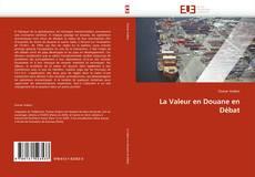 La Valeur en Douane en Débat kitap kapağı
