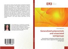 Bookcover of Generalized polynomials and associated semigroups
