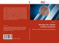 Biologie des cellules souches humaines的封面