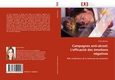 Bookcover of Campagnes anti-alcool: L''efficacité des émotions négatives