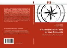 """Couverture de """"L''étalement urbain"""" dans les pays développés"""