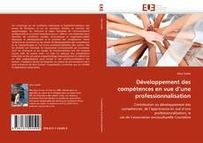 Couverture de Développement des compétences en vue d'une professionnalisation