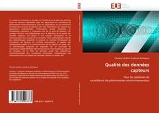 Copertina di Qualité des données capteurs