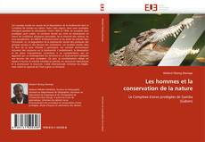 Les hommes et la conservation de la nature的封面