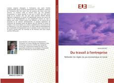 Capa do livro de Du travail à l'entreprise