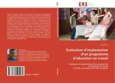 Couverture de Évaluation d'implantation d'un programme d'éducation au travail