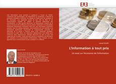 Buchcover von L''Information à tout prix