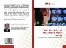 Bookcover of Effets indésirables des anesthésiques locaux amides