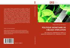 Portada del libro de POLITIQUE MONETAIRE DE CIBLAGE D''INFLATION