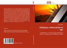 Couverture de Politiques d''attractivité et IDE