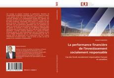 Portada del libro de La performance financière de l''investissement socialement responsable