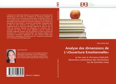 Bookcover of Analyse des dimensions de L''«Ouverture Emotionnelle»