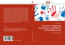 Couverture de Mercosur: intégration économique, instabilité et vulnérabilité sociale