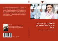 Capa do livro de Femmes aux postes de gestion en Tunisie et au Maroc