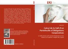 Bookcover of Calcul de la VaR d''un Portefeuille d''Obligations Corporatives