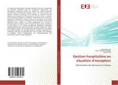 Couverture de Gestion hospitalière en situation d'exception
